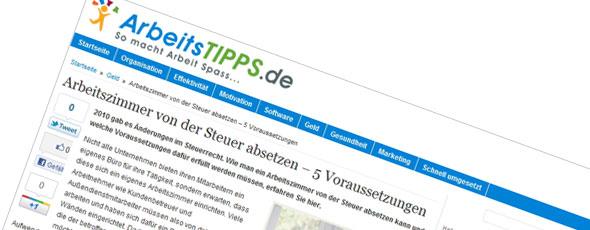 Arbeitstipps.de
